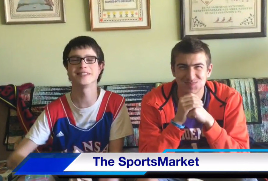 "Q&A with Hosts of ""The Sports Market"""