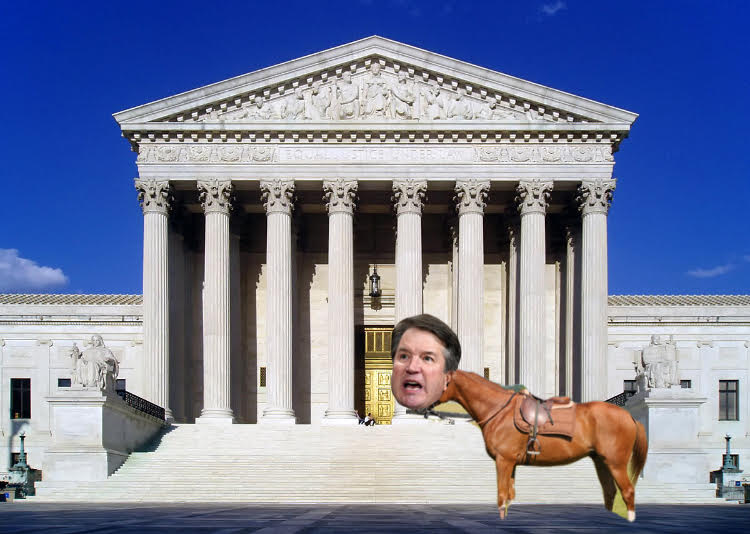 Kavanaugh Canters to Contested Confirmation