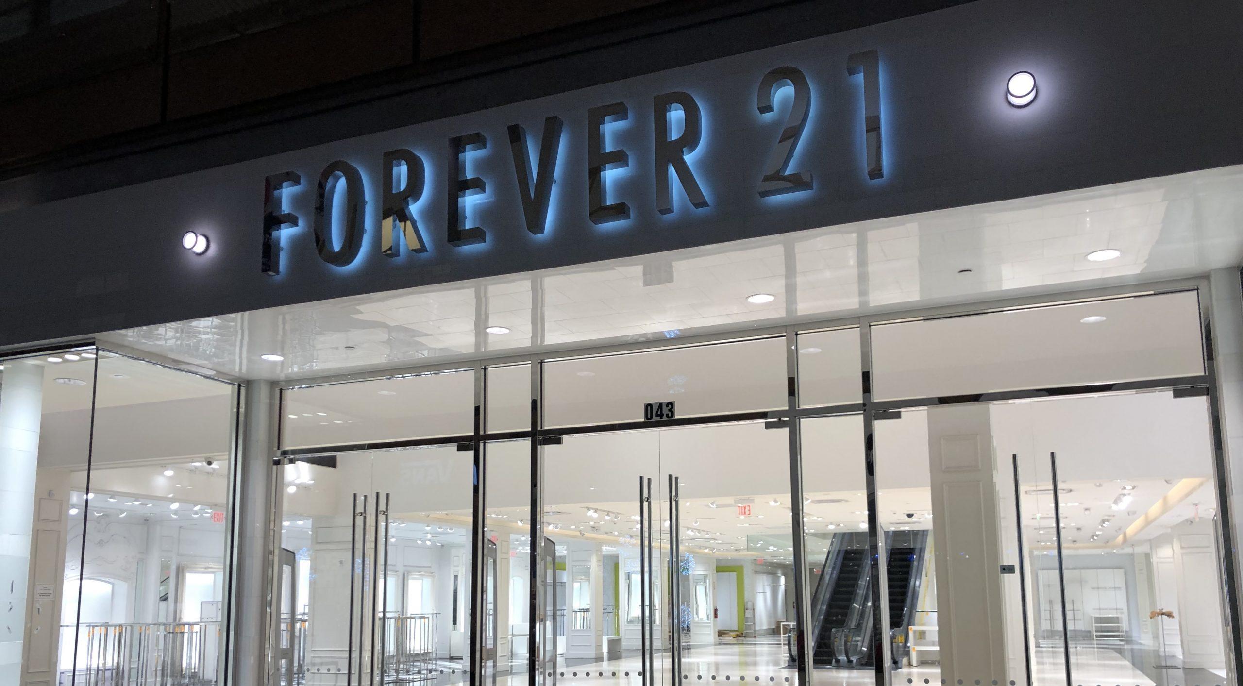 Not So Forever 21